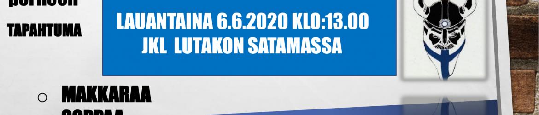 Hyväntekeväisyystapahtuma 6.6.2020